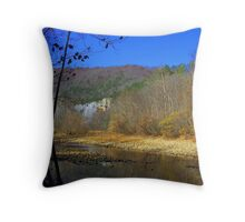 Buffalo River, at Steel Creek Throw Pillow