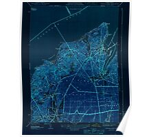 Massachusetts  USGS Historical Topo Map MA Vineyard Haven 352283 1944 31680 Inverted Poster