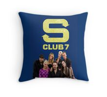 S Club 7 2015 Throw Pillow