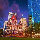 Trinity Church, Boston, MA by LudaNayvelt