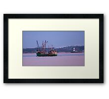 To Sea Framed Print