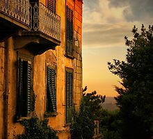 Feosole at Sunset by Barbara  Brown