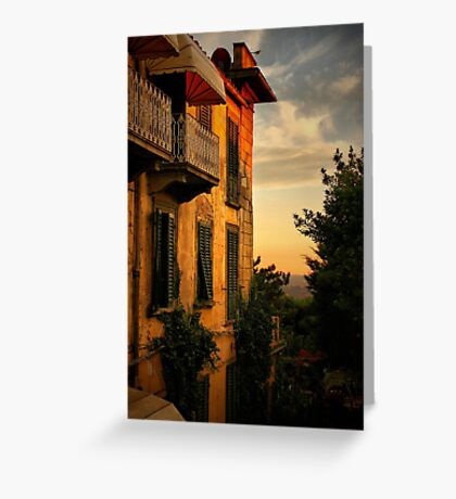 Feosole at Sunset Greeting Card