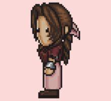 Aerith Pixelart One Piece - Short Sleeve
