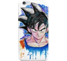 Epic GOKU DBZ - Watercolor - Streetart Tees n more! Jonny2may iPhone Case/Skin