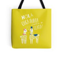 Hola Chica Bonita Poster Tote Bag