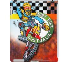 Dirt Bike Australia Hot Stuff T-Shirt iPad Case/Skin