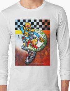 Dirt Bike Australia Hot Stuff T-Shirt Long Sleeve T-Shirt