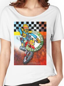 Dirt Bike Australia Hot Stuff T-Shirt Women's Relaxed Fit T-Shirt
