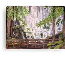 Ramona Falls on Mt Hood Canvas Print