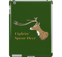 Fightin' Spear Deer iPad Case/Skin