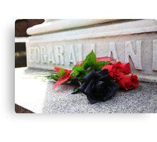 RIP Edgar Allan Poe Canvas Print