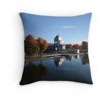 In The Old Port Throw Pillow