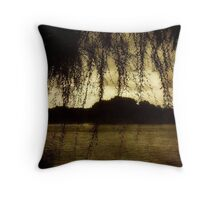 Lagoon ©  Throw Pillow