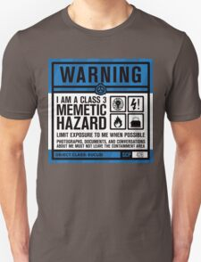 SCP 426 Warning Sign Unisex T-Shirt