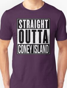 STRAIGHT OUTTA CONEY Unisex T-Shirt