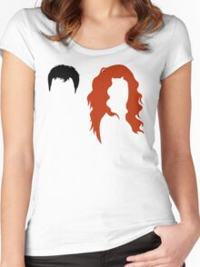 Minimalist Will & Grace Women's Fitted Scoop T-Shirt