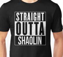 STRAIGHT OUTTA SHAOLIN Unisex T-Shirt