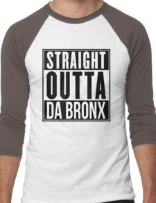 STRAIGHT OUTTA DA BRONX Men's Baseball ¾ T-Shirt