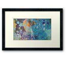 Blue Marvel Framed Print