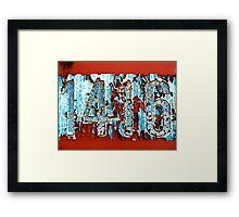 1416 Framed Print