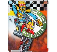 Dirt Bike Australia - Hot Stuff for Poster Art iPad Case/Skin
