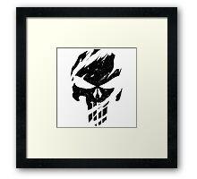 Faded Punisher Framed Print