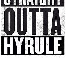 Straight Outta Hyrule by TWMTees