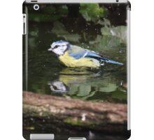 Parus caeruleus  iPad Case/Skin