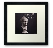 the mind is full of beauty Framed Print