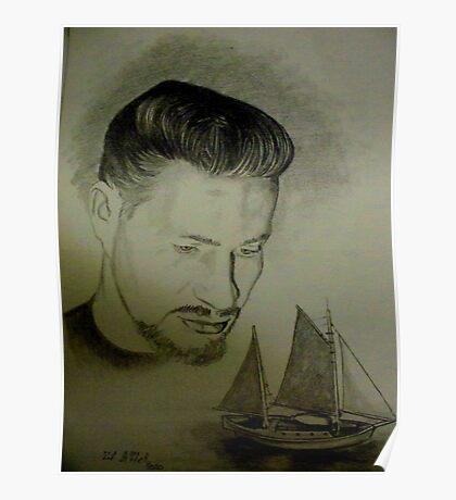 "Richard Shaffer 1939-2009 ""Father"" Poster"