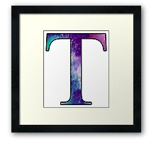 Tau Galaxy Framed Print
