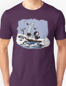 Calvin and Hobbes Beyond the Wall Unisex T-Shirt