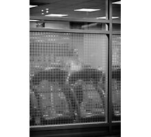 Grid Runner Photographic Print