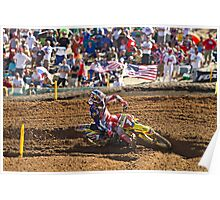 Team USA's Ryan Dungey - 2010 Red Bull MX Of Nations Poster