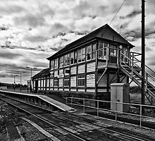 Foxfield Railway Station by Lea Valley Photographic