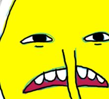 Lemongrab: You made me like this Sticker