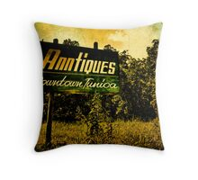 Anntiques Billboard  Throw Pillow