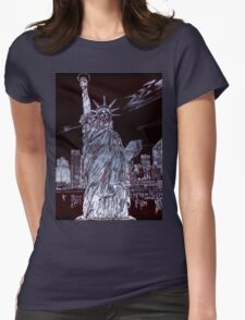 I Love NYC! Womens Fitted T-Shirt