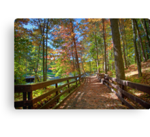 A Pleasant Fall Day Canvas Print