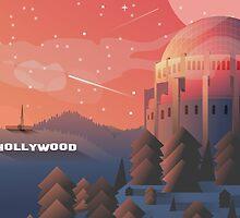 Star gazing in Hollywood by joshwhitehead