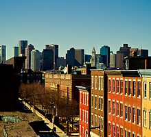Boston Skyline by jscherr