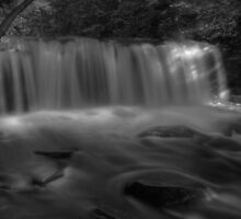 Oneida Falls (in full splendor) by Aaron Campbell