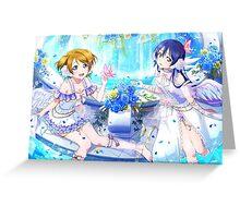 Love Live! Umi Sonoda/Hanayo Koizumi Greeting Card