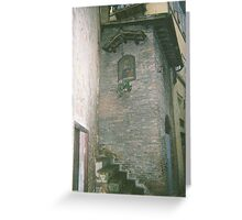 Tower of Siena Greeting Card