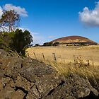 Dry Stone Wall at Mount Elephant by DaBimages
