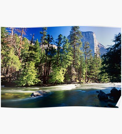 Merced River with the El Capitan Poster