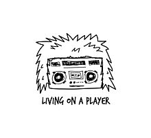 Living on a Player Photographic Print