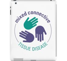 Official Mixed Connective Tissue Disease Logo iPad Case/Skin