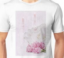 Candles, Crystal And Vintage Dish Unisex T-Shirt